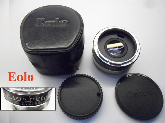 Teleconverter Auto 2x P/ Lentes Canon Cf - Kenko Japan *&