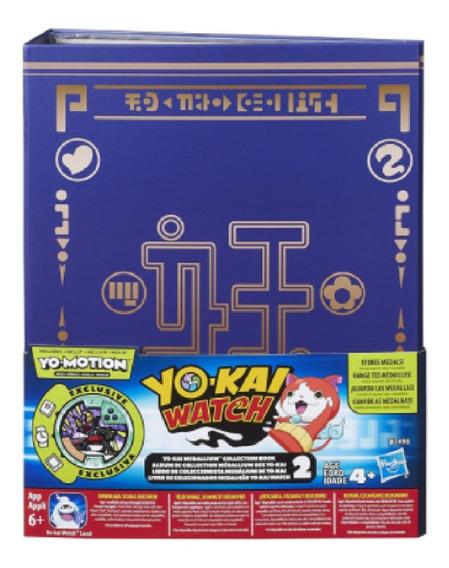 Yokai Watch Libro Medallas 2 Collection Book Yo-kai