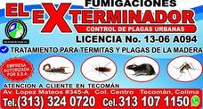 Servicio De Fumigacion Profecional En Control De Plagas