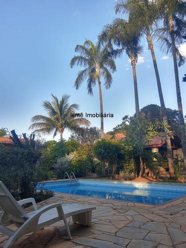Imagem 1 de 14 de Linda Chacara Para Venda No Guará Em Barão Geraldo, 5 D (3 Suites), Piscina, Jardim, Edicula. - Ch00284 - 69542273