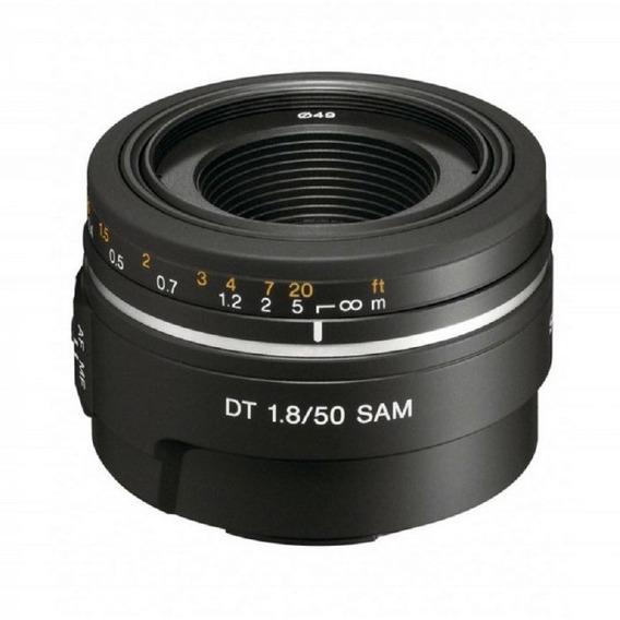 Lente Sony Dt Sal 50mm F/1.8 Sam