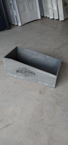 Imagen 1 de 5 de Caja Organizadora Decorativa Vintage Madera Estante