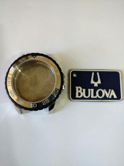 Kit Caixa De Relógio Bulova Wb31756t