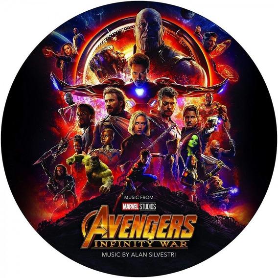 Soundtrack Avengers Infinity War Vinilo Lp Picture En Stock