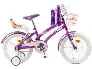 Bicicleta Olmo Rod 16 Tiny Friends Nena Violeta Envío Gratis