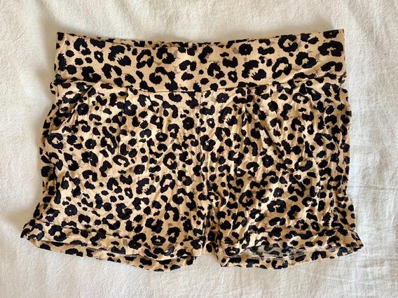 Short Leopardo H&m Mujer