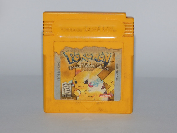 Pokémon Yellow Amarelo - Original - Game Boy Color