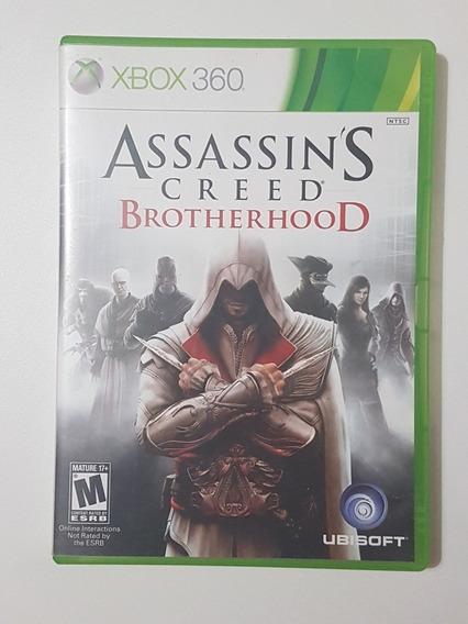 Assassins Creed Brotherhood Original Com Defeito Xbox 360