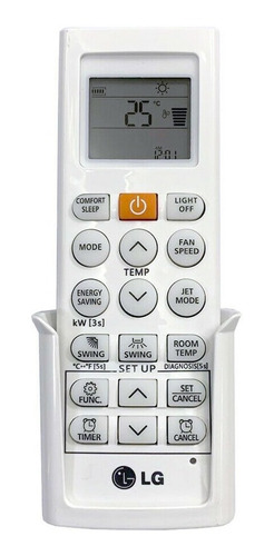 Imagen 1 de 3 de Control Para Aire Minisplit LG Original Akb75215401 Nuevo