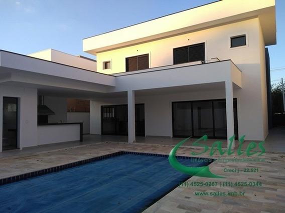 Casa Nova No Reserva Da Serra Em Jundiaí - Condomínio Fechado - 3756