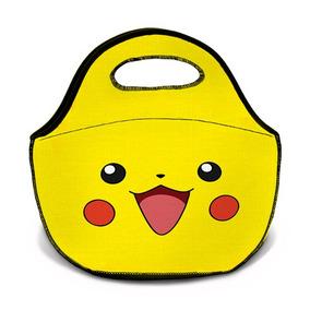 Bolsa Térmica Neoprene Pokemon Pikachu Artgeek