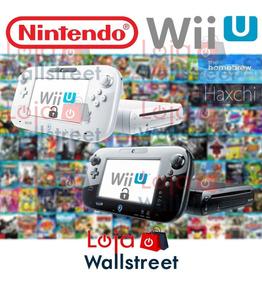 Wii U Nintendo + Wiimote + Nunchuk + Varios Jogos