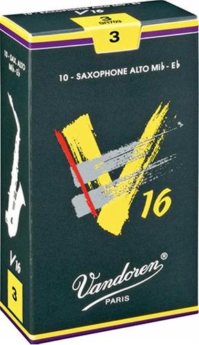 Pack De Cañas Vandoren V16 Sr703 De Saxo Alto N3 X10u
