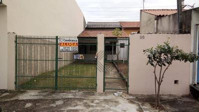 Casa Com 1 Dormitório Para Alugar, 55 M² Por R$ 750/mês - Jardim São Guilherme - Sorocaba/sp - Ca5542