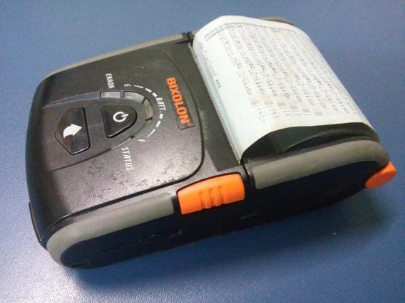 Impressora Portátil Bixolon Spp-r200ii C/ Fonte E Bateria!