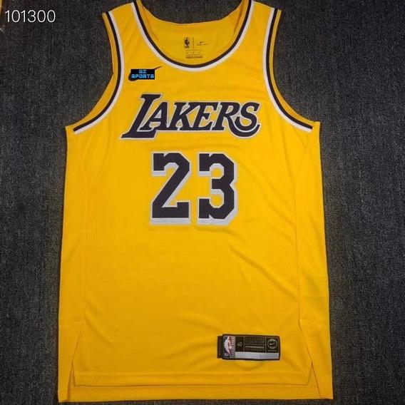 Lebron James #23 Los Angeles Lakers Authentic - A Pedido