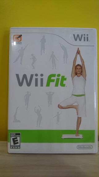 Wii Fit - Jogo E Balança - Original!