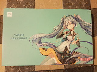 Hatsune Miku Xiaomi 6x Edición Especial