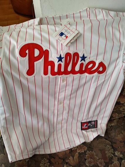 Camisa De Los Phillies Original Majestic