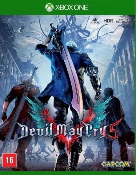 Devil My Cry 5 Xbox One Midia Fisica Original Lacrado