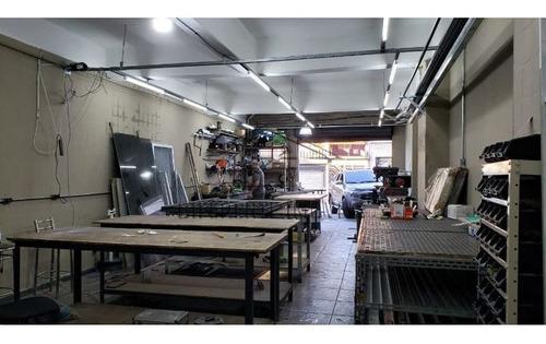 Imagem 1 de 9 de Salão Comercial De 100m²- 2 Vagas - Vila Marieta