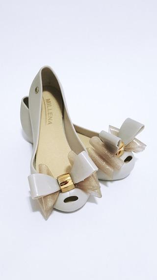 Sapatilha Sapato Infantil \adulto Feminina Com Laço Cores