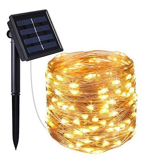 Nexgadget Guirnaldas De Luces Solares Decorativas 8 Modos 2