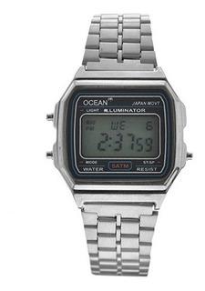 Reloj Hombre Ocean, Vintage, Sumergible 5atm, Empresarial, Calidad Premium + Estuche