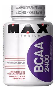 Bcaa 2400 200 Cápsulas Max Titanium