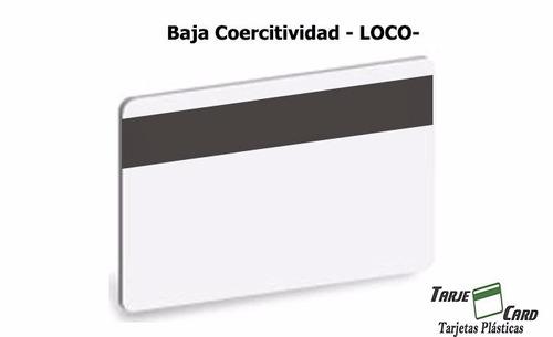 Tarjetas Pvc De Banda Magnética Loco Cr80.030 500 Unidades