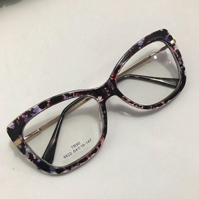 827ad6892 Oculos De Grau Estilo Gatinho Onça - Óculos no Mercado Livre Brasil