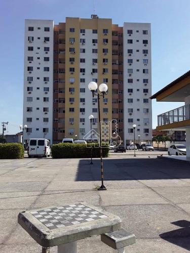 Apartamento Com 2 Dormitórios À Venda, 60 M² Por R$ 200.000,00 - Boaçu - São Gonçalo/rj - Ap2840