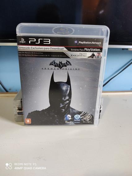 Jogo Batman Arkham Origems Para Ps3