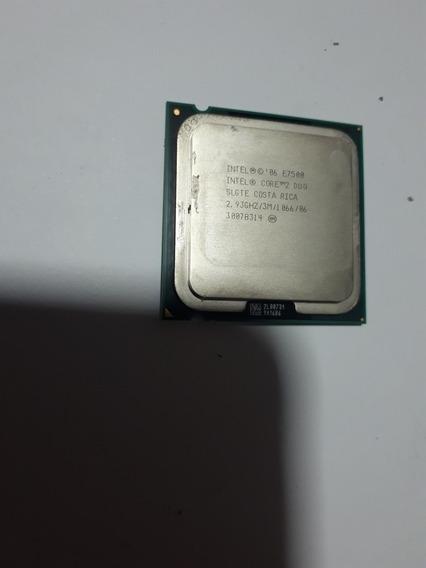 Processador Core 2 Duo E7500 Funcionando Perfeitamente