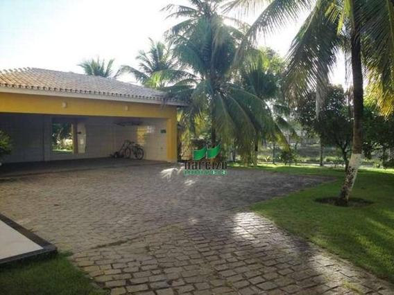 Casa Com 5 Dormitórios À Venda, 700 M² Por R$ 2.970.000,00 - Busca Vida - Camaçari/ba - Ca0090