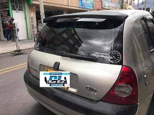 Spoiler Renault Clio
