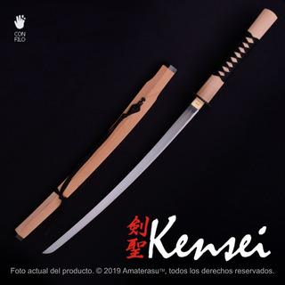 Katana Samurai Kensei Kai 47 Ronin Acero 1045 Filo Extremo