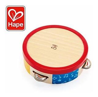 Rhythm Tambourine E0607 Juguetes De Madera
