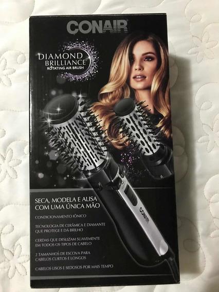 Escova Rotating Air Brush Diamond Brilliance Conair Polishop
