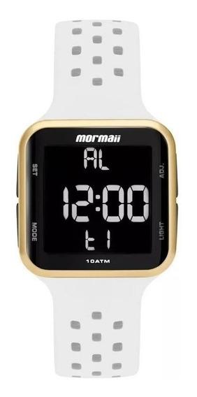 Relógio Mormaii Feminino Digital Mo6600ad/8b Dourado Preto
