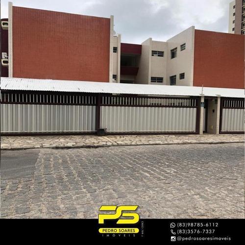 Imagem 1 de 16 de Flat Com 2 Dormitórios À Venda, 46 M² Por R$ 350.000 - Cabo Branco - João Pessoa/pb - Fl0118