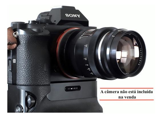 Lente 85mm F 2.0 Jupiter9 -15 Laminas + Adapt. Sony E-mount
