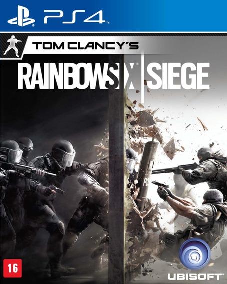 Jogo Rainbow Six Siege - Ps4 Sony