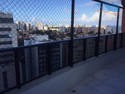 Cobertura Com 3 Dormitórios À Venda, 180 M² Por R$ 1.300.000 - Stiep - Salvador/ba - Co0013