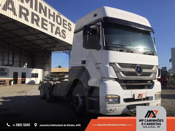 Cavalo Mercedes-benz Mb 2540 6x2 Teto Alto Conservado