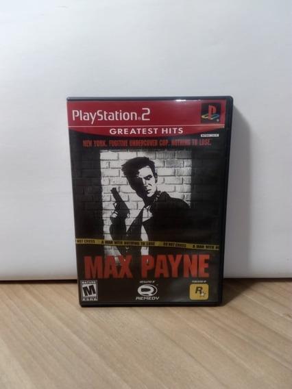 Max Payne Ps2 Original Usado