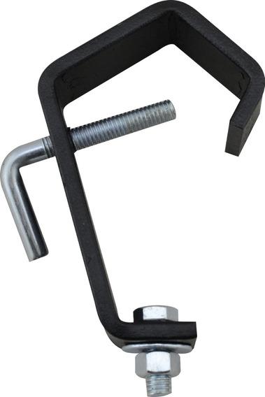 10 Ganchos Algema C-clamp Para Treliças Box Truss Iluminacao