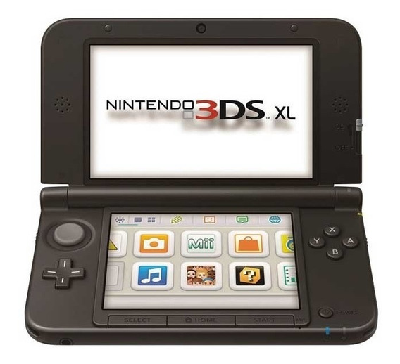 Vídeo Game Portátil Nintendo 3ds Xl Azul E Preto Novo