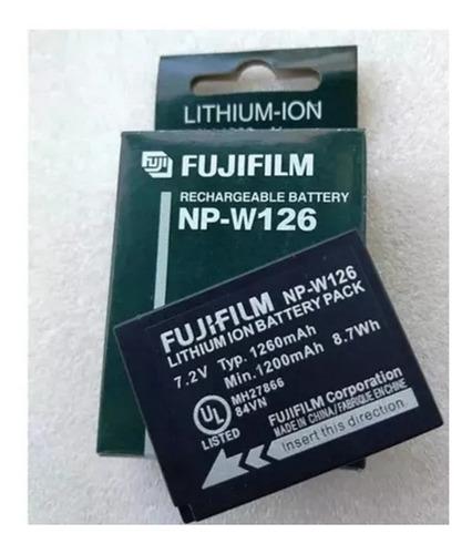 Bateria Fuji Np-w126 W126 Hs30 Hs33 35 50 F30 F31 Xt10 X-t20