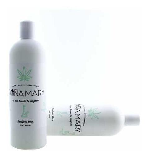 Jabón Líquido Biodegradable Para Bongs Doña Mary - 480ml